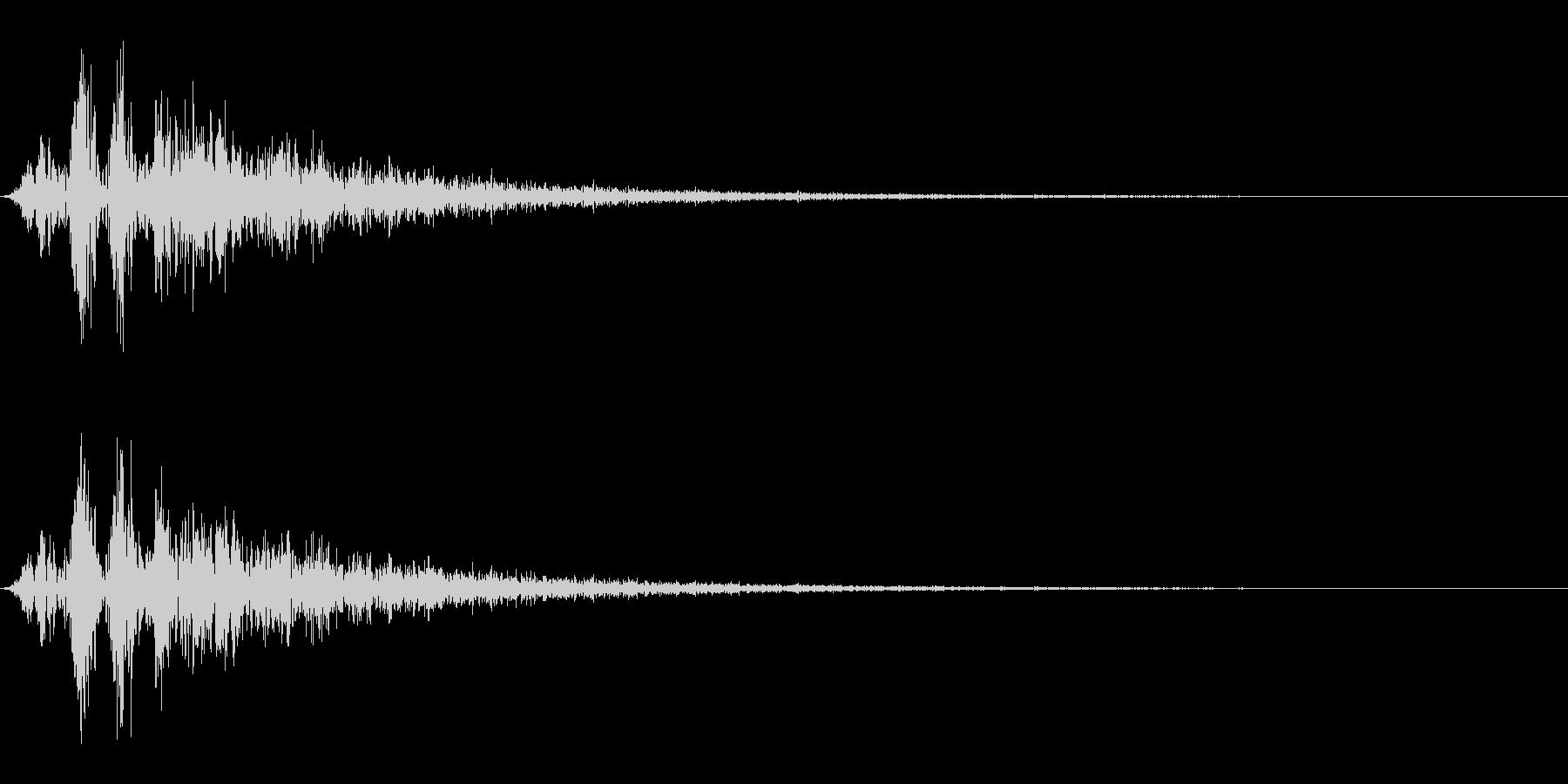 毒魔法/状態異常/バッドステータスの未再生の波形