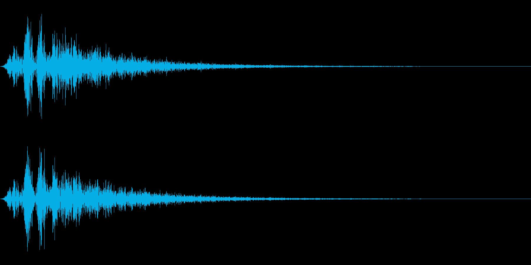 毒魔法/状態異常/バッドステータスの再生済みの波形
