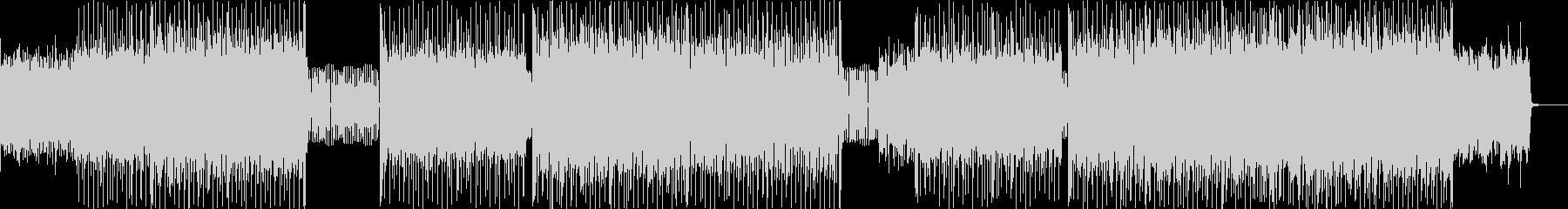 ピアノハッピーハードコアの未再生の波形