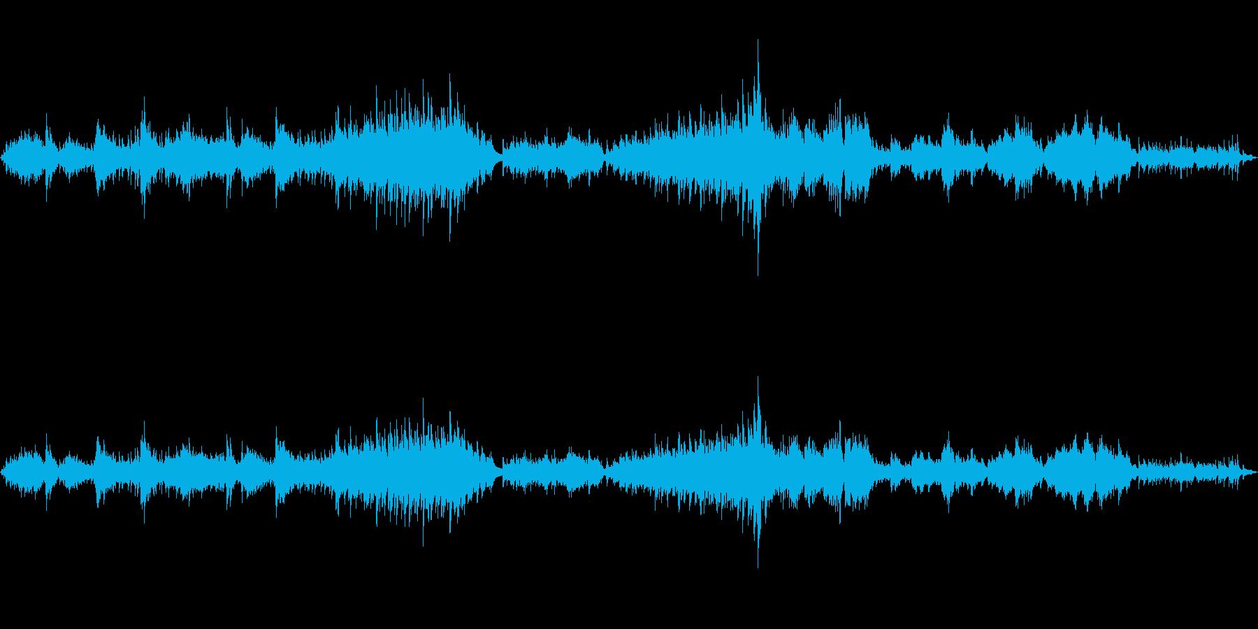 ラフマニノフの前奏曲を原曲でピアノ演奏の再生済みの波形