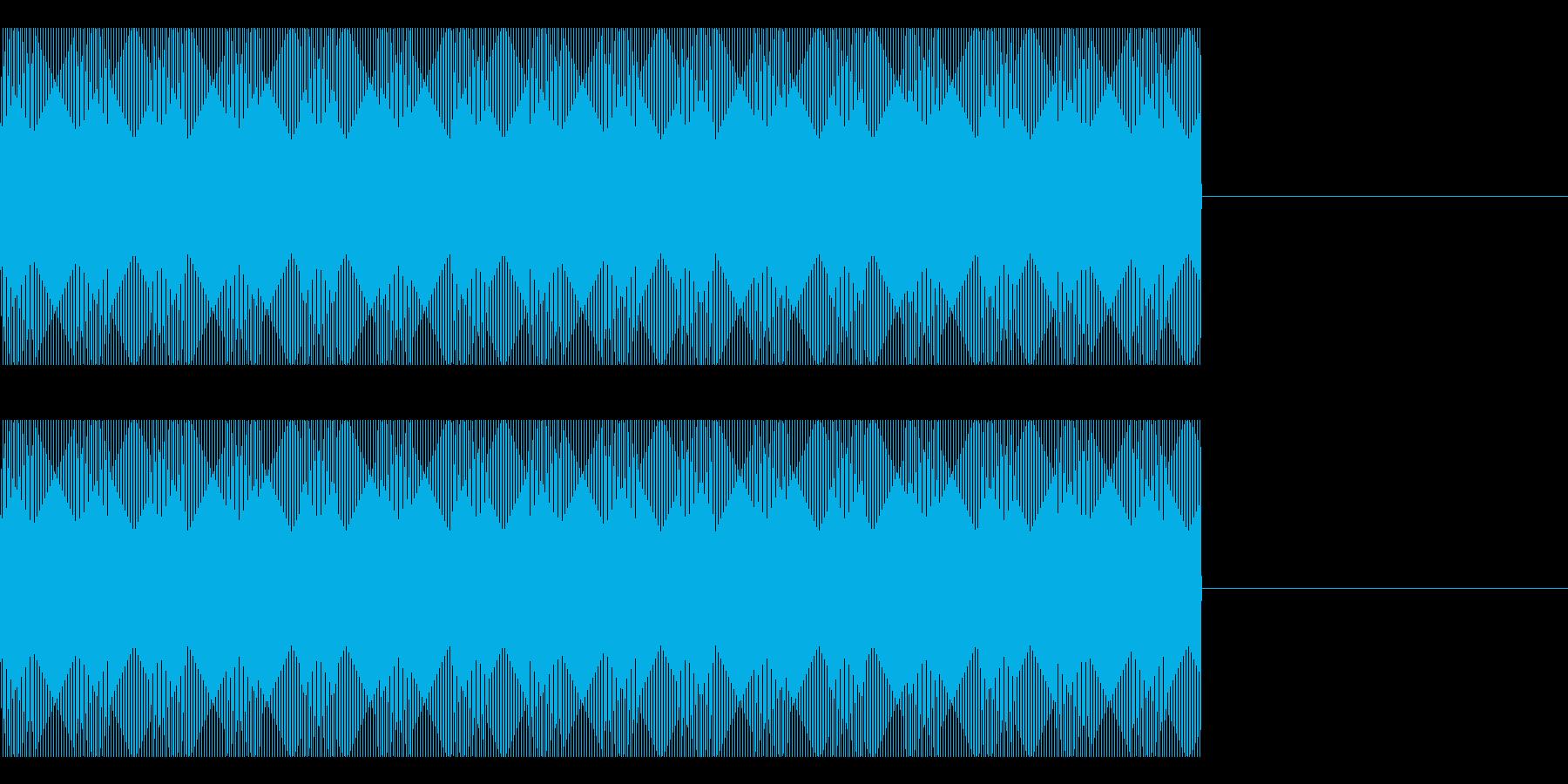 FX・SE/電話/着信音/コール/キーAの再生済みの波形