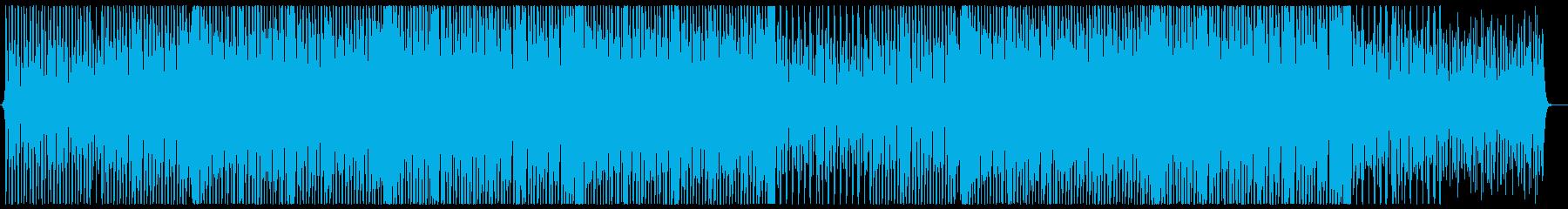 ほんわか口笛コンセプトムービー風の再生済みの波形