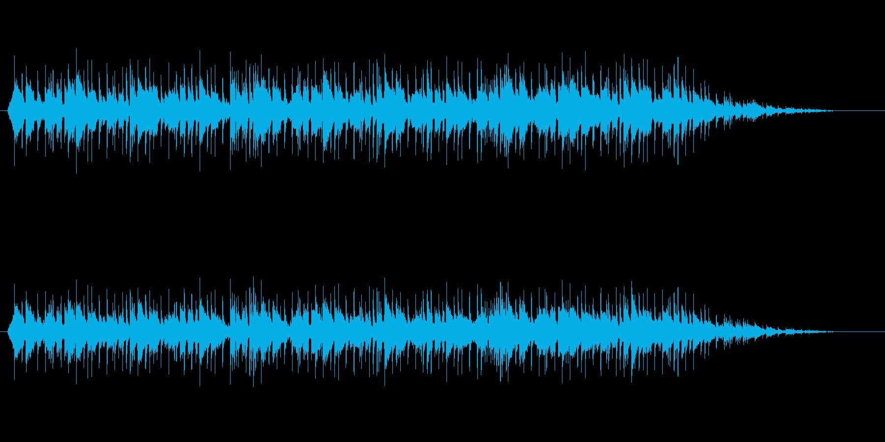 ドラマで使える大人なムードミュージックの再生済みの波形