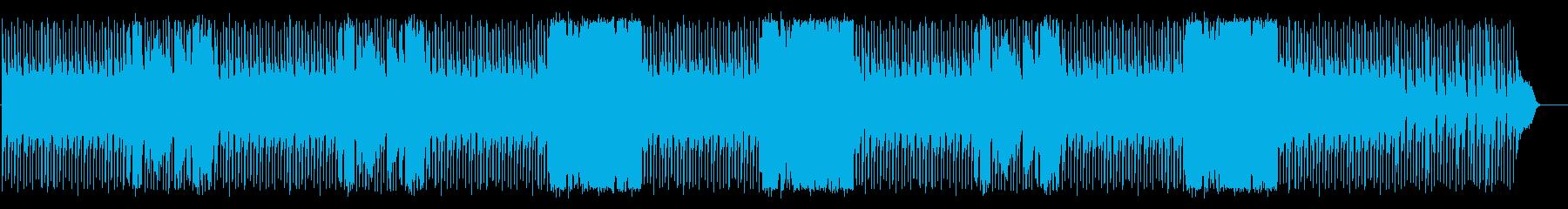 ピアノとトランペットのアーバンなジャズの再生済みの波形