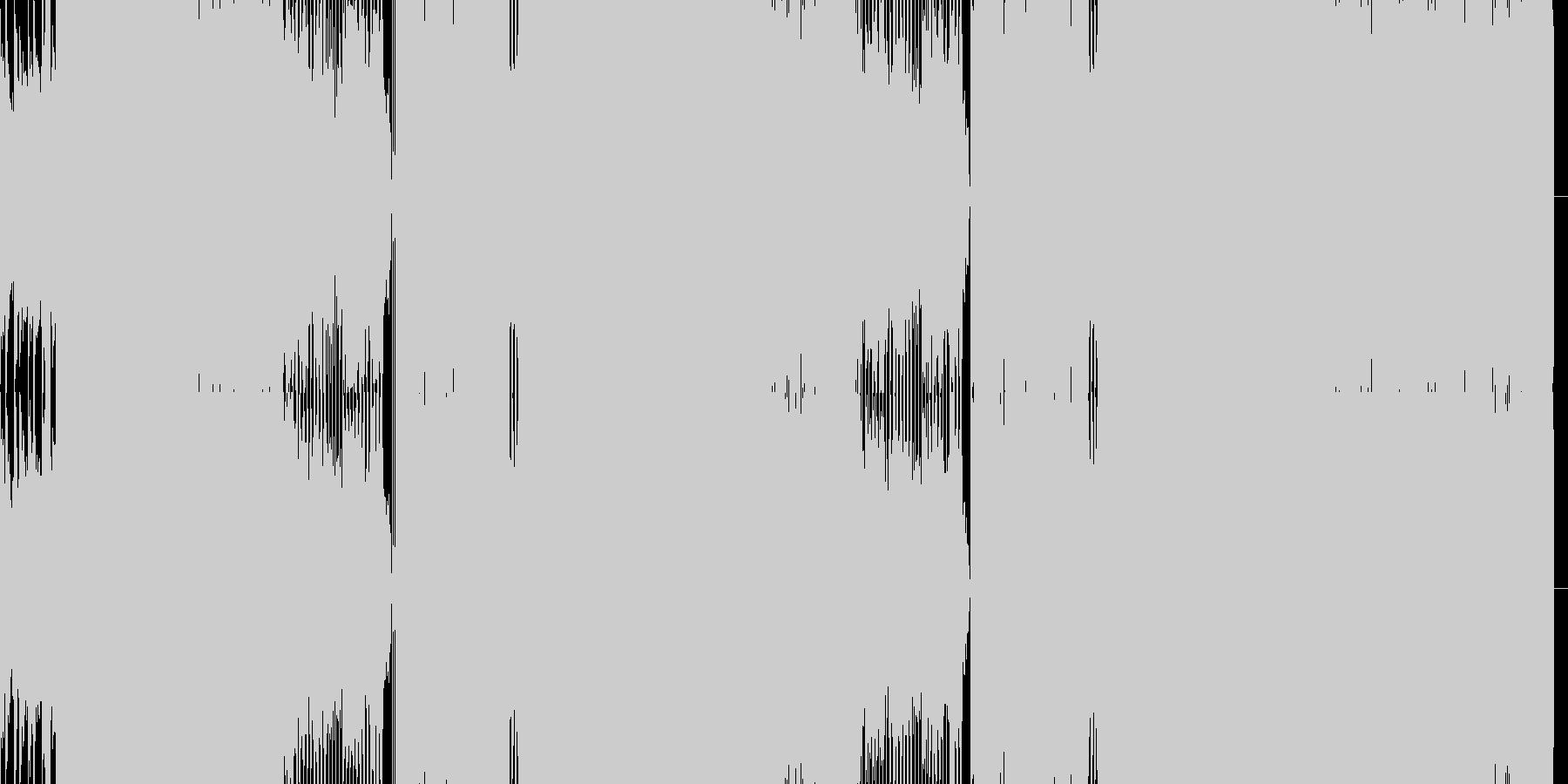 日本語ギターエレクトロポップの未再生の波形