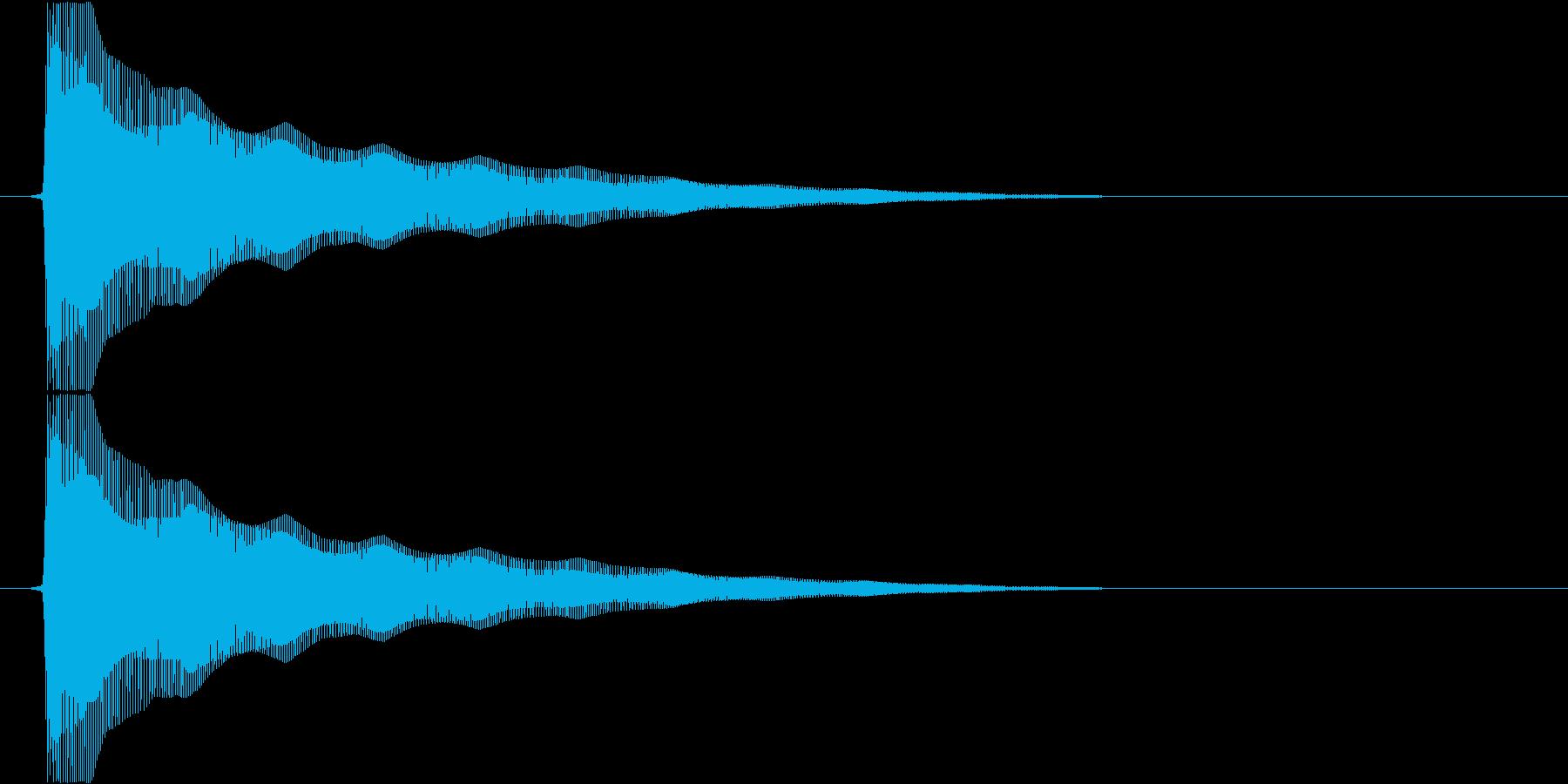 ビヨンヨンヨン…(バネ、まぬけ、高い)の再生済みの波形