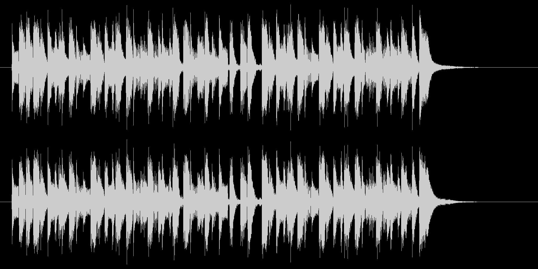 リズミカルでキャッチ―なピアノジングルの未再生の波形