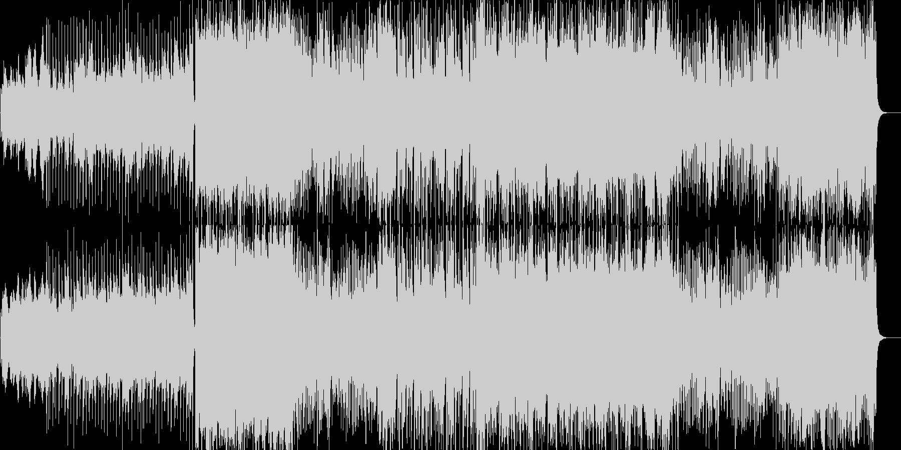 応援系popsの未再生の波形