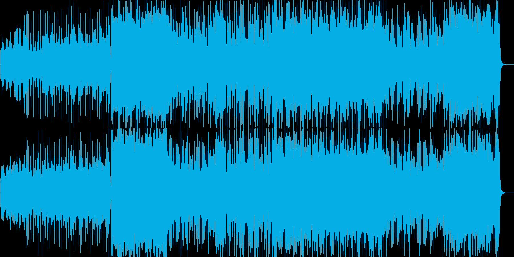 応援系popsの再生済みの波形