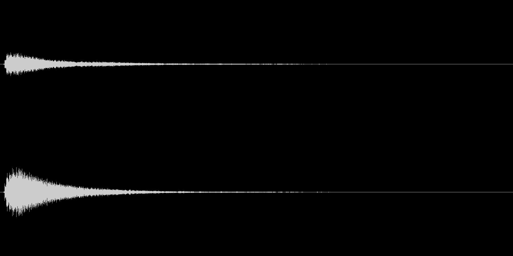キラキラ系_033の未再生の波形