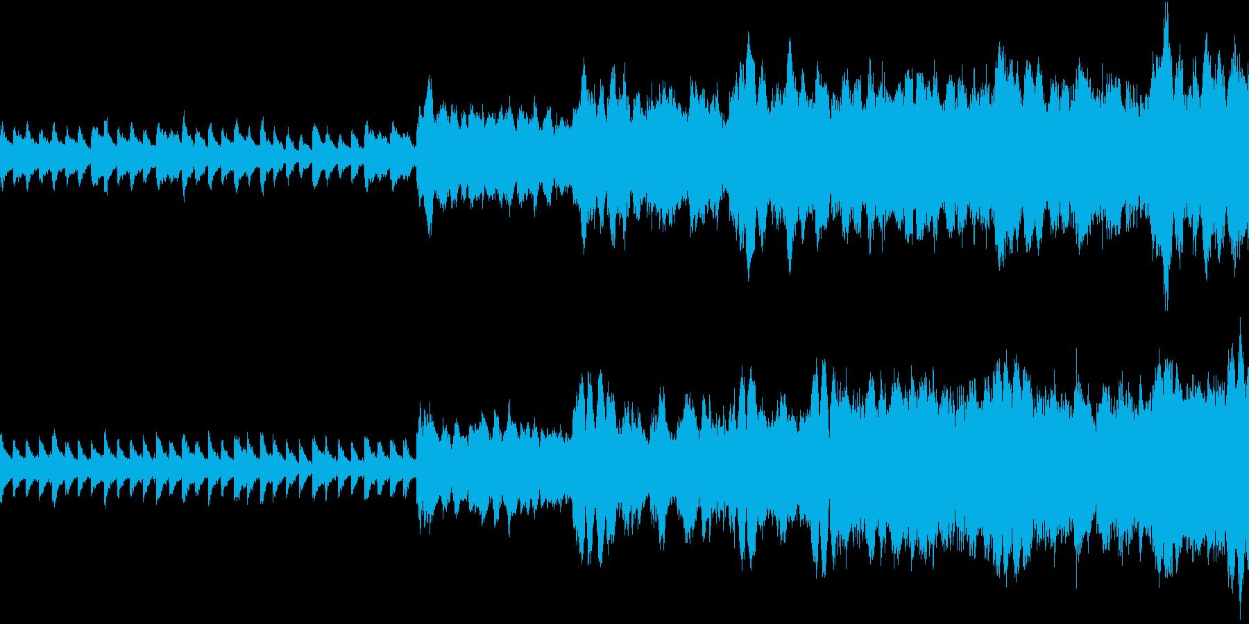 ミステリアス 哀愁 ループの再生済みの波形
