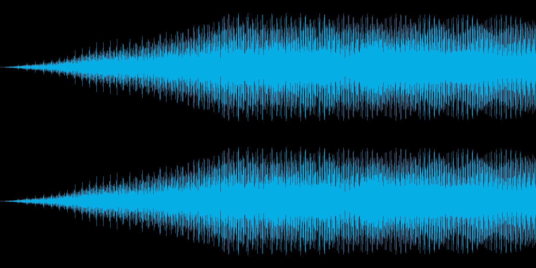 キュイーン:メカの駆動音などに。の再生済みの波形