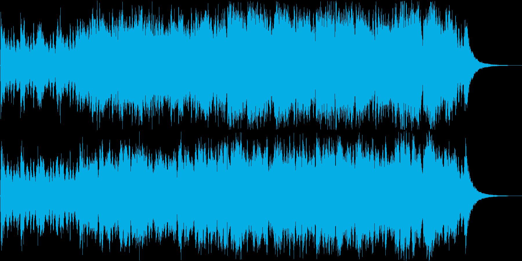 メロディ主体のかっこいい勇壮オーケストラの再生済みの波形