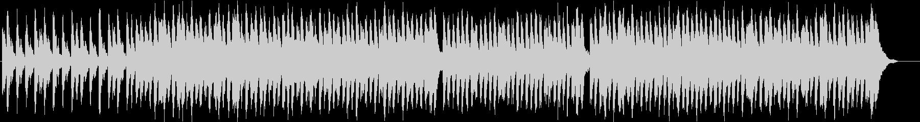 軽快で楽しくライトなオーケストラBGMの未再生の波形