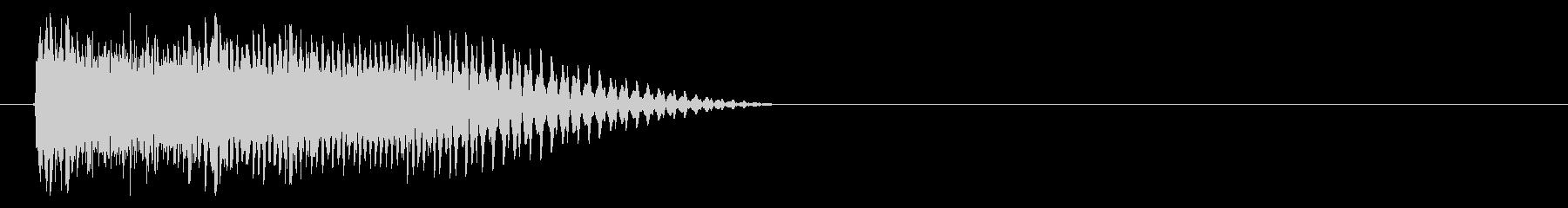 キュピーン(ワープ、瞬間移動、技発動)の未再生の波形
