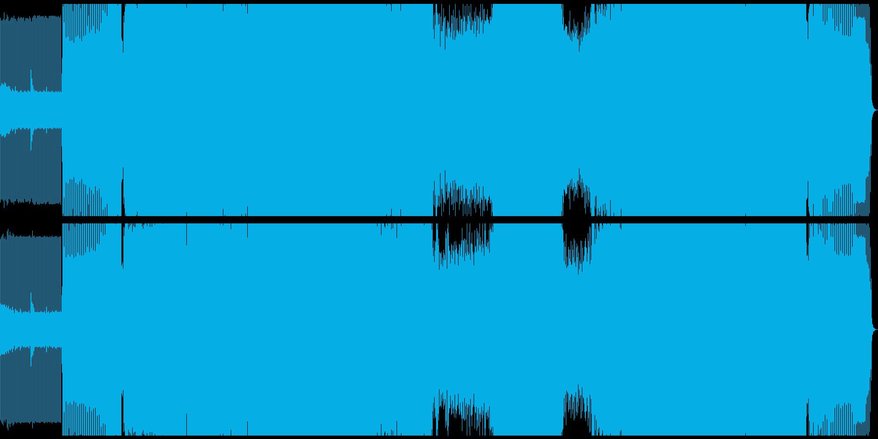 クラブ/プログレッシブハウスの再生済みの波形