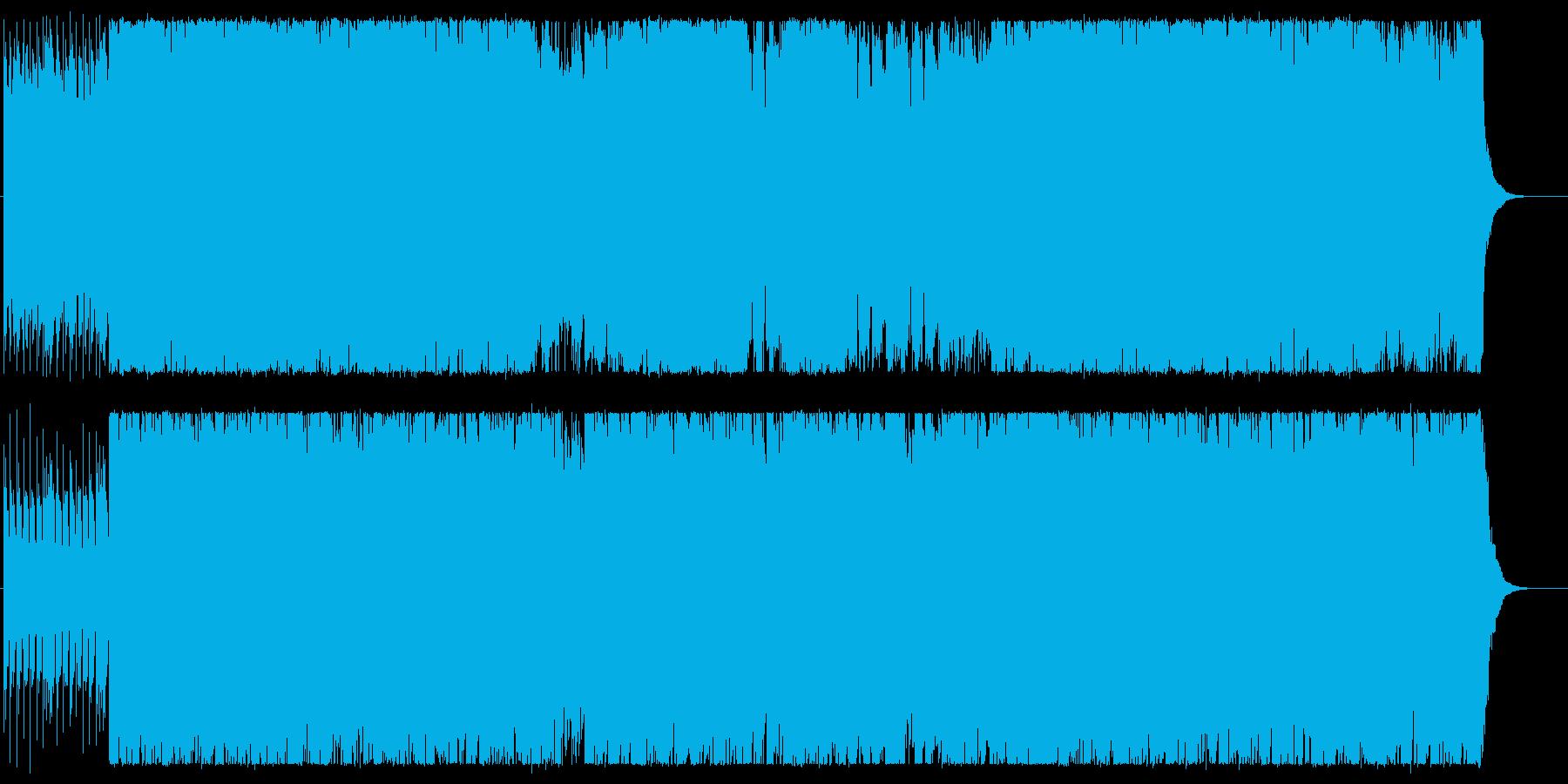軽やかでクールなエレキポップサウンドの再生済みの波形