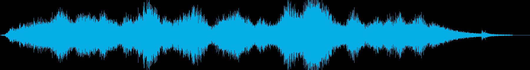 ダークです ドローンです サスペンス …の再生済みの波形