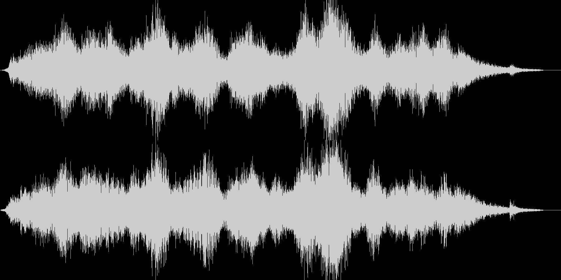 ダークです ドローンです サスペンス …の未再生の波形