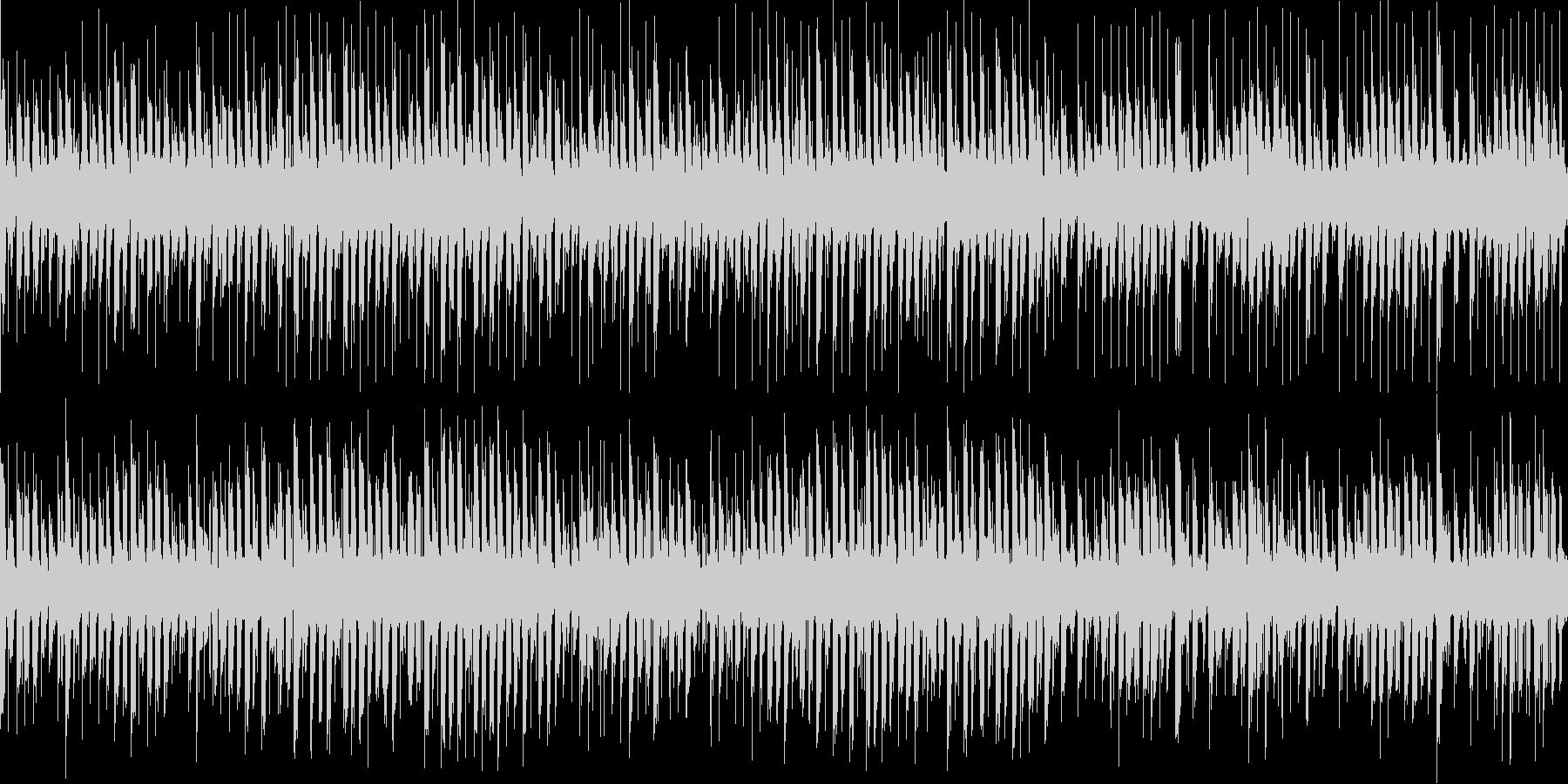 優しい電気仕掛けのオルゴールの未再生の波形