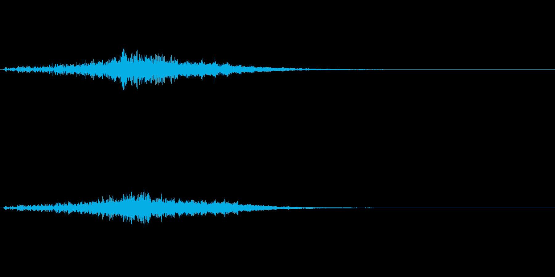 ファーン(光の魔法、エフェクト)の再生済みの波形