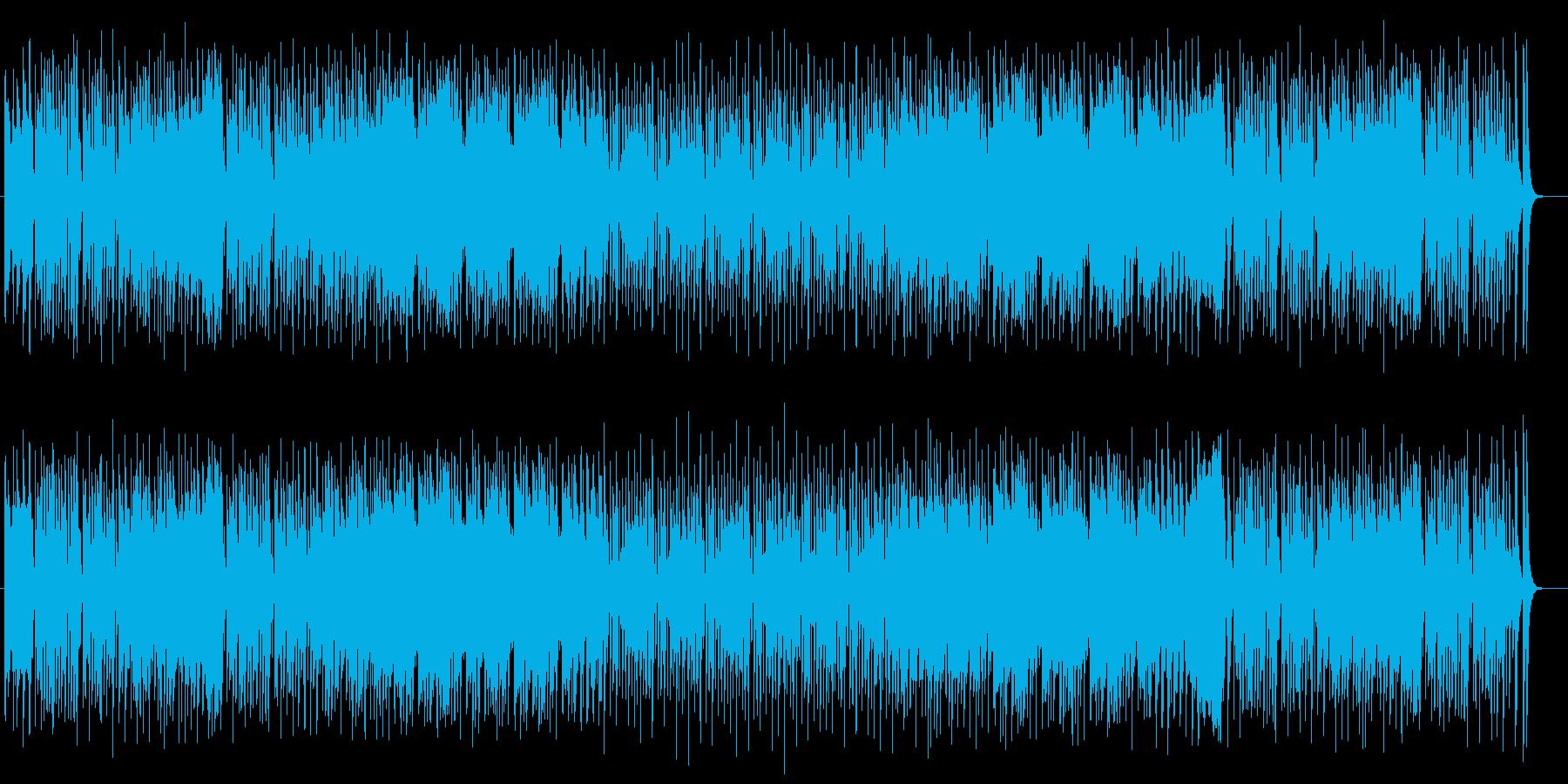ポップで明るいトランペットポップスの再生済みの波形