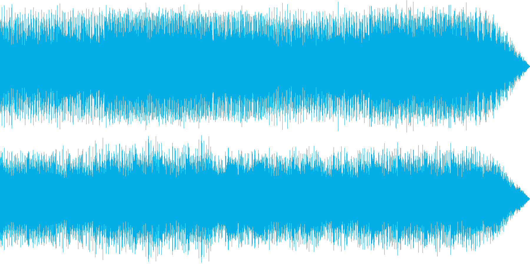 ファンタジーRPGの戦闘シーンをイメー…の再生済みの波形