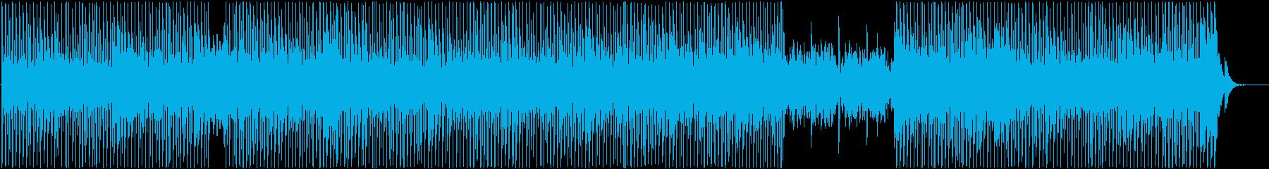 明るく軽快なシンセポップの再生済みの波形