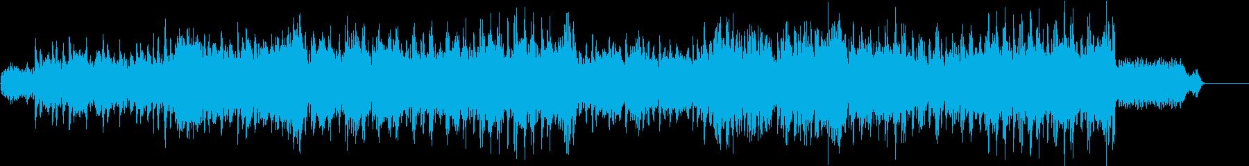 ゆったりとした朝の日常系BGMの再生済みの波形