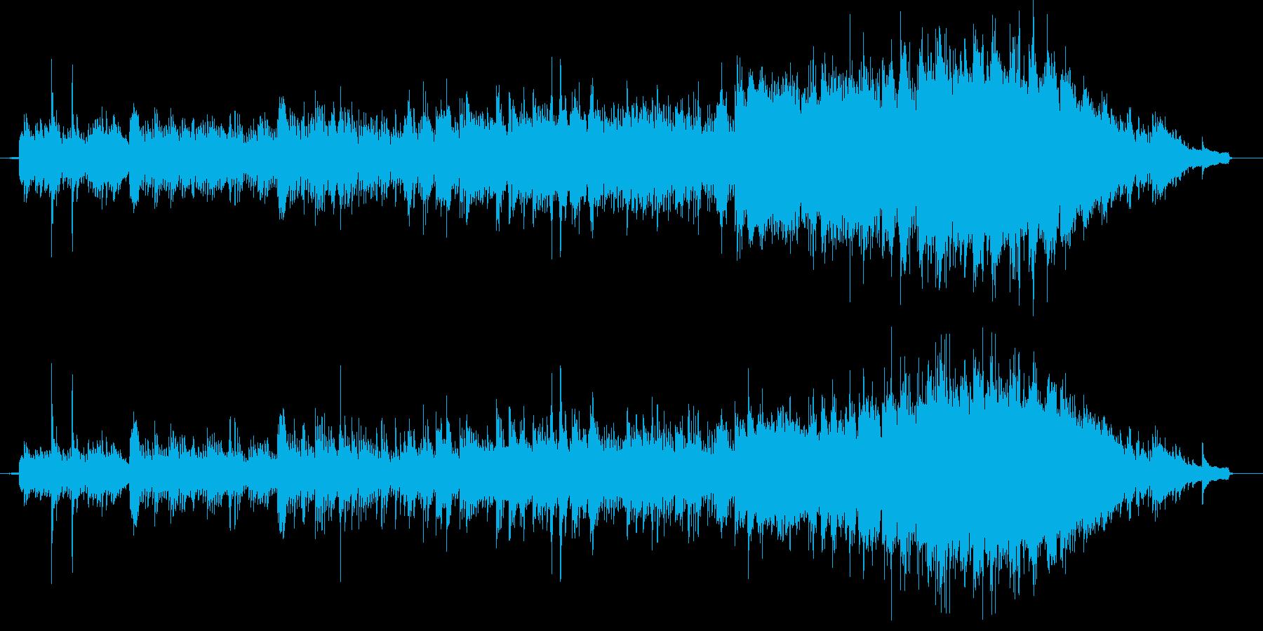 クラシカルなピアノ・バラードの再生済みの波形