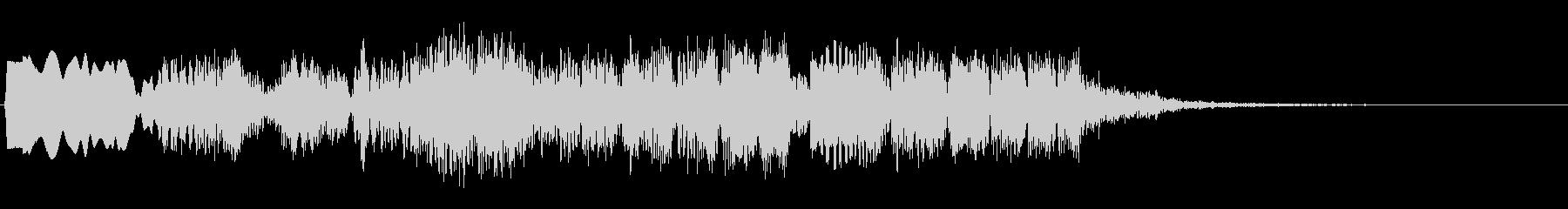 プクプクプク(水中の泡の音)の未再生の波形