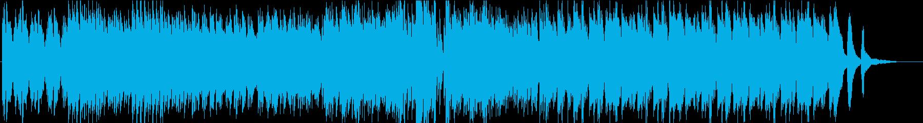 ピアノソロ☆蝶、花、空、舞オシャレPOPの再生済みの波形