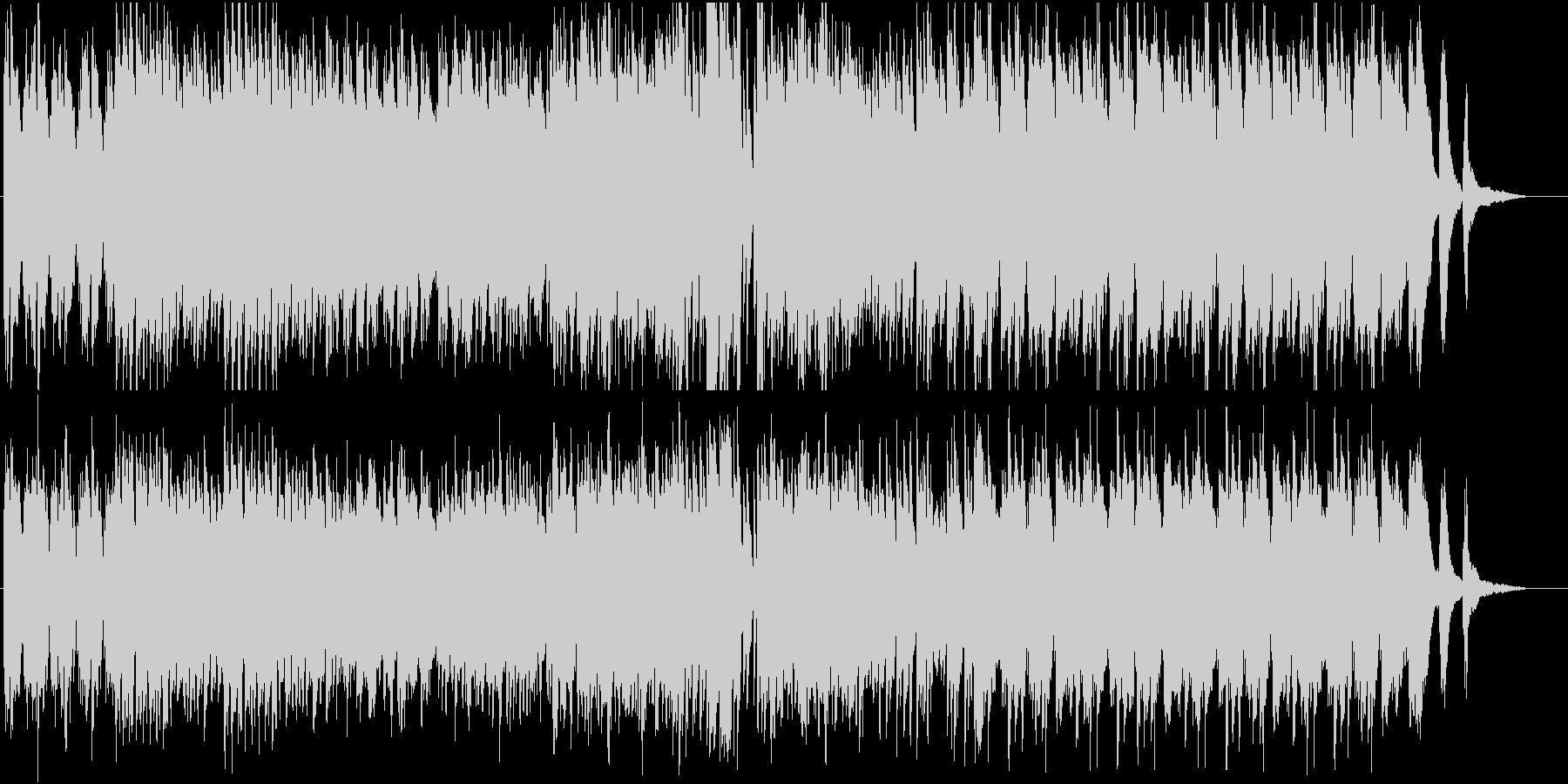 ピアノソロ☆蝶、花、空、舞オシャレPOPの未再生の波形