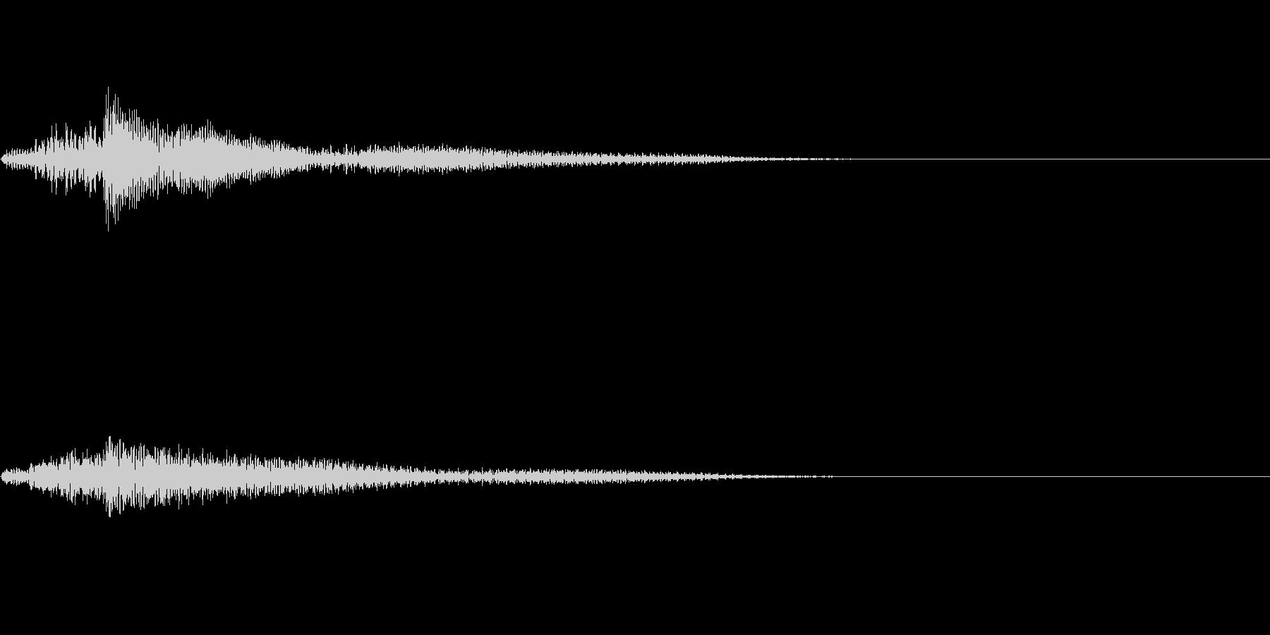 ピアノ SE03の未再生の波形