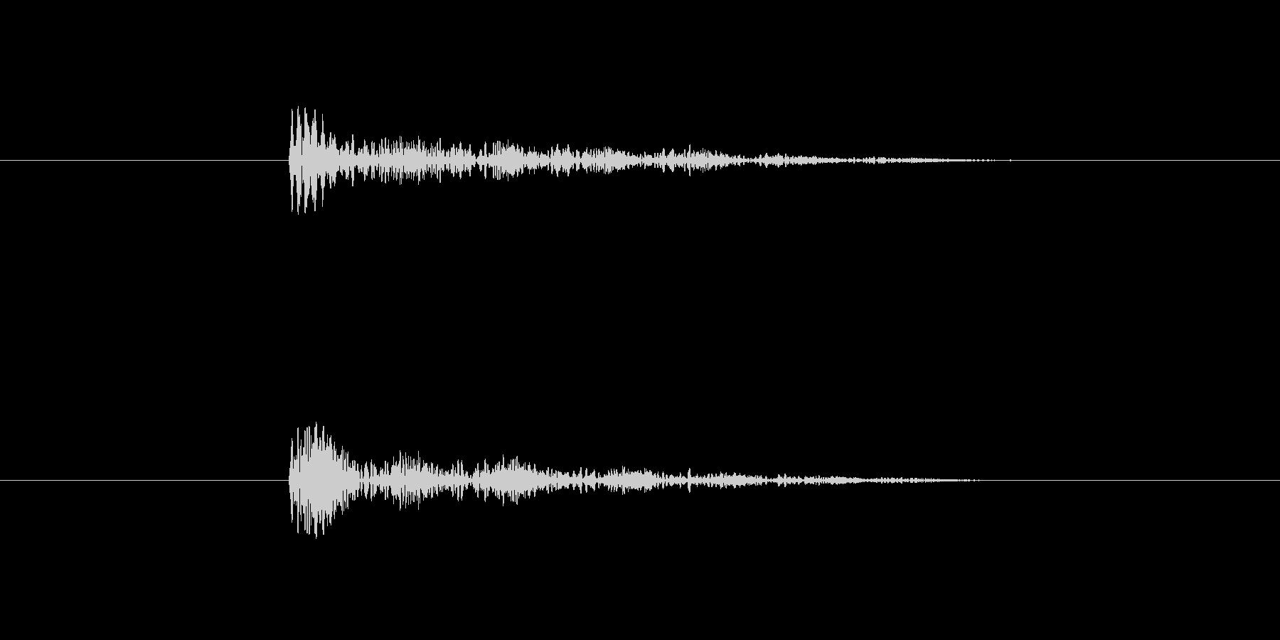 プルプル音(スライム・ゼリー系)6の未再生の波形