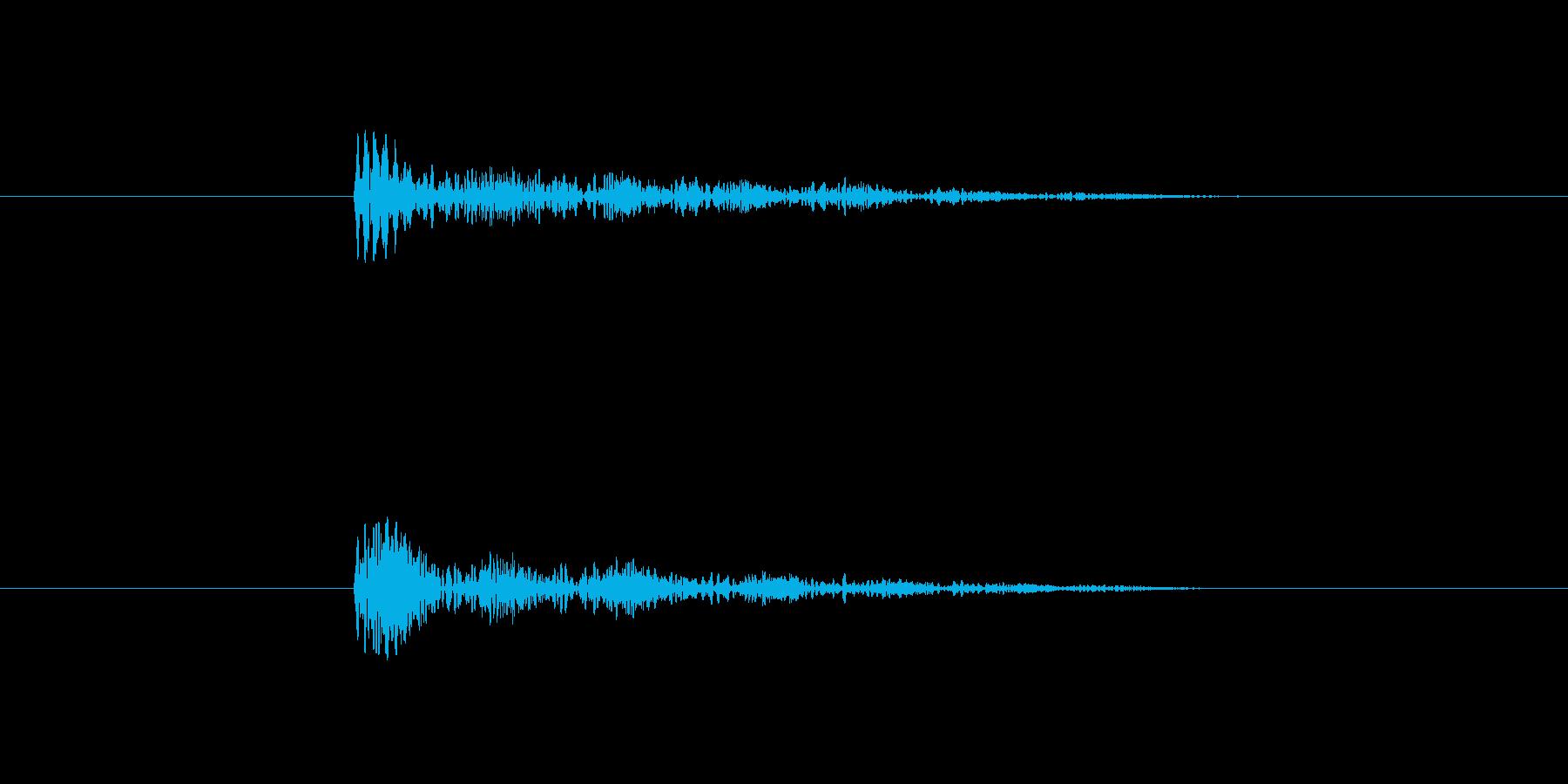 プルプル音(スライム・ゼリー系)6の再生済みの波形