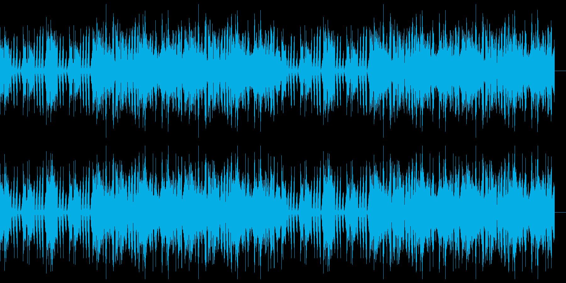 機械奇怪音楽の再生済みの波形