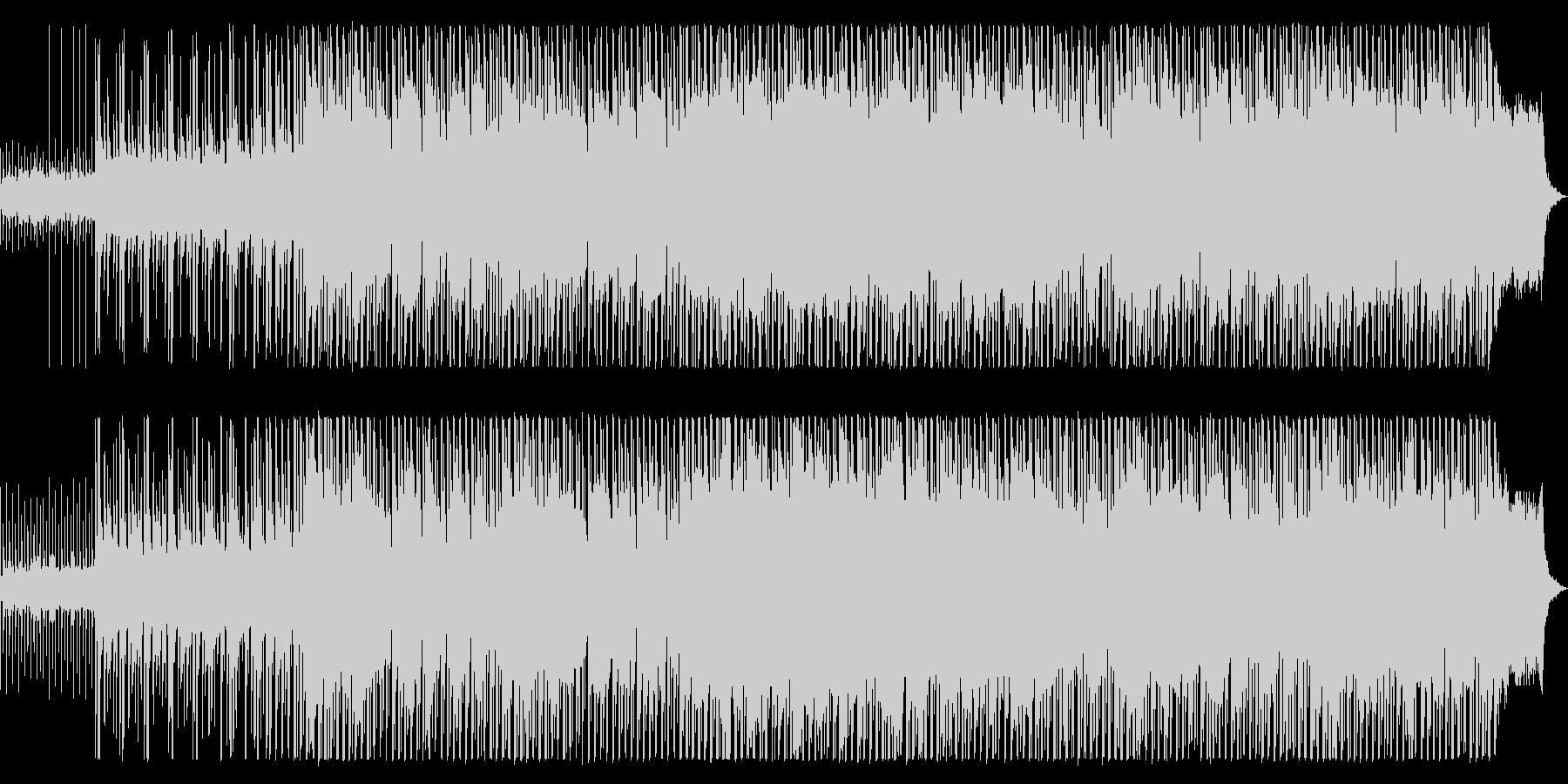 ジムノペディ/テクノアレンジの未再生の波形