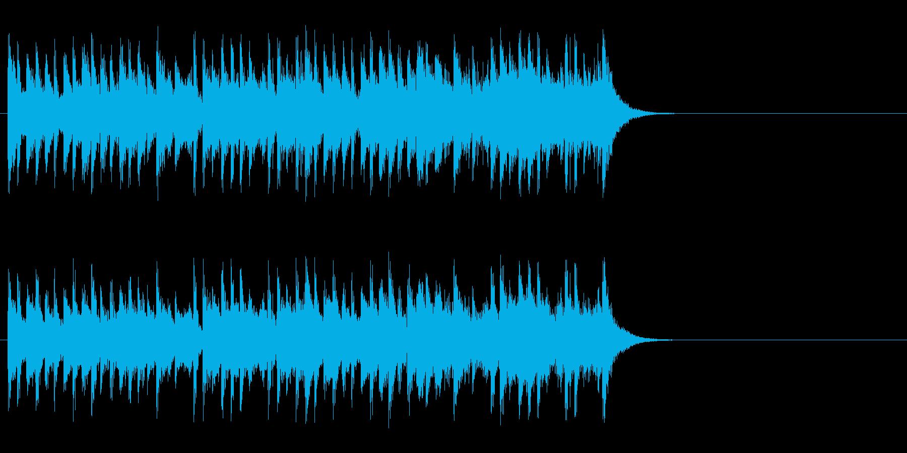店内向けのポップ ロック(サビ)の再生済みの波形