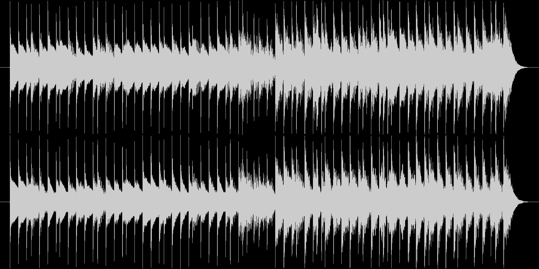 TV番組などで使えるポップな木琴ジングルの未再生の波形