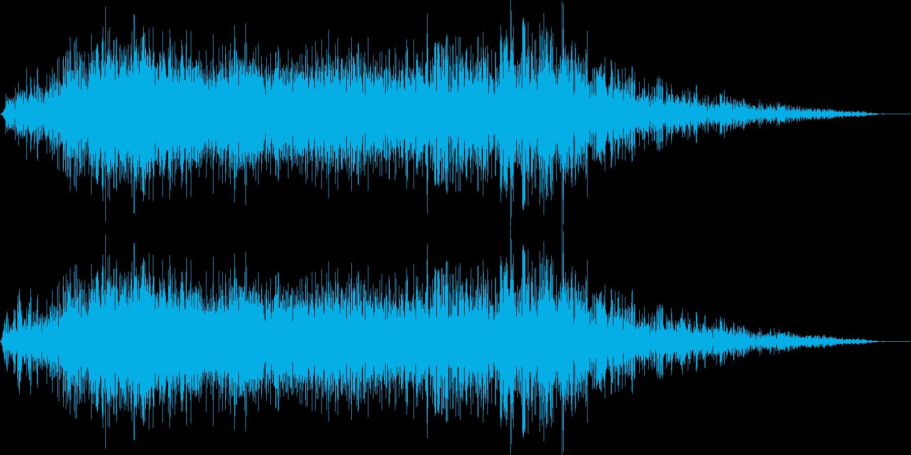 【 シェルター 】プシューバタン(普通)の再生済みの波形