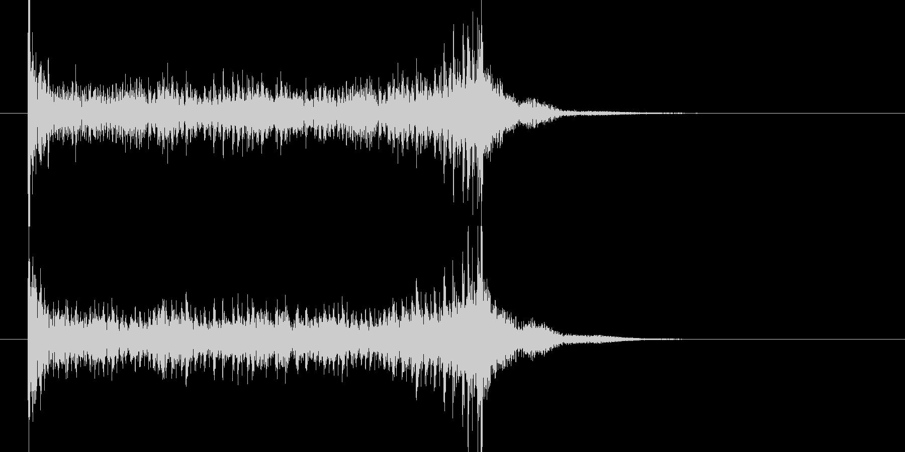 ティンパニロール 結果発表 タイプBの未再生の波形