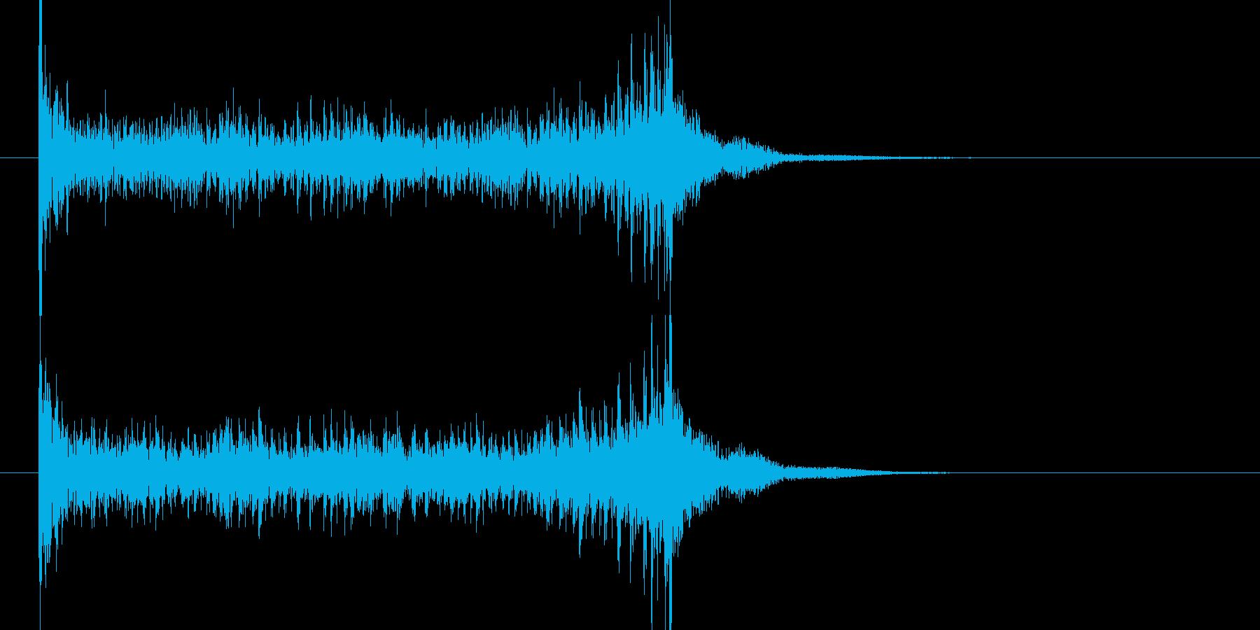 ティンパニロール 結果発表 タイプBの再生済みの波形