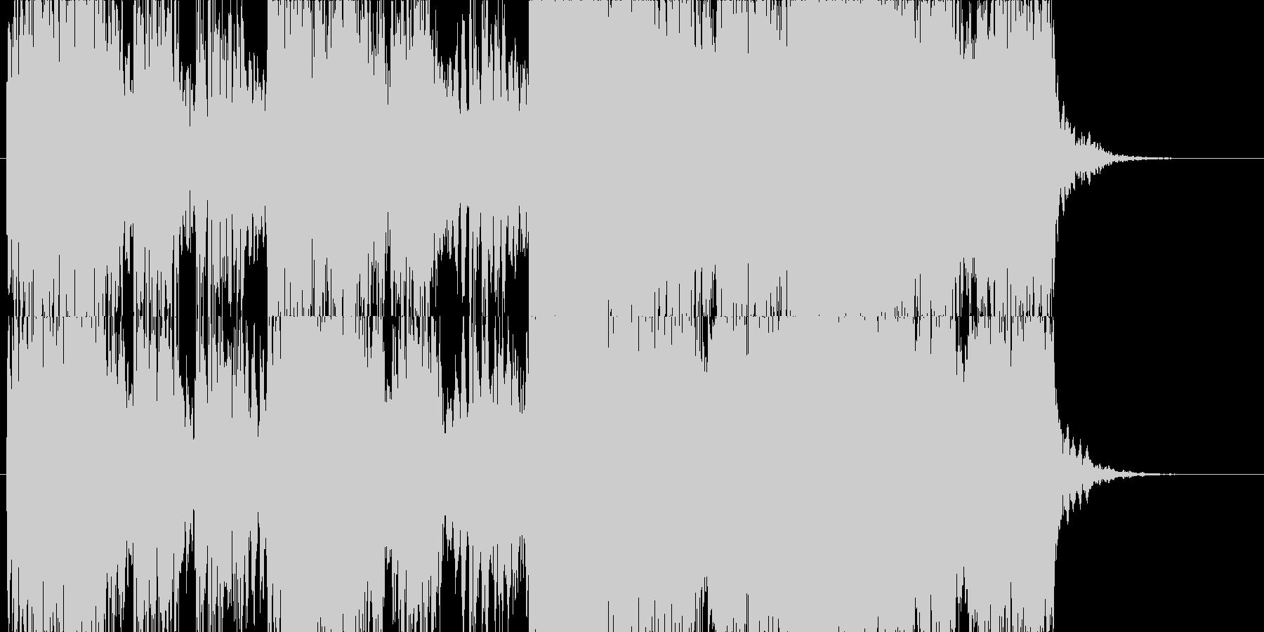 薄暗い雰囲気のホラーBGMです。の未再生の波形