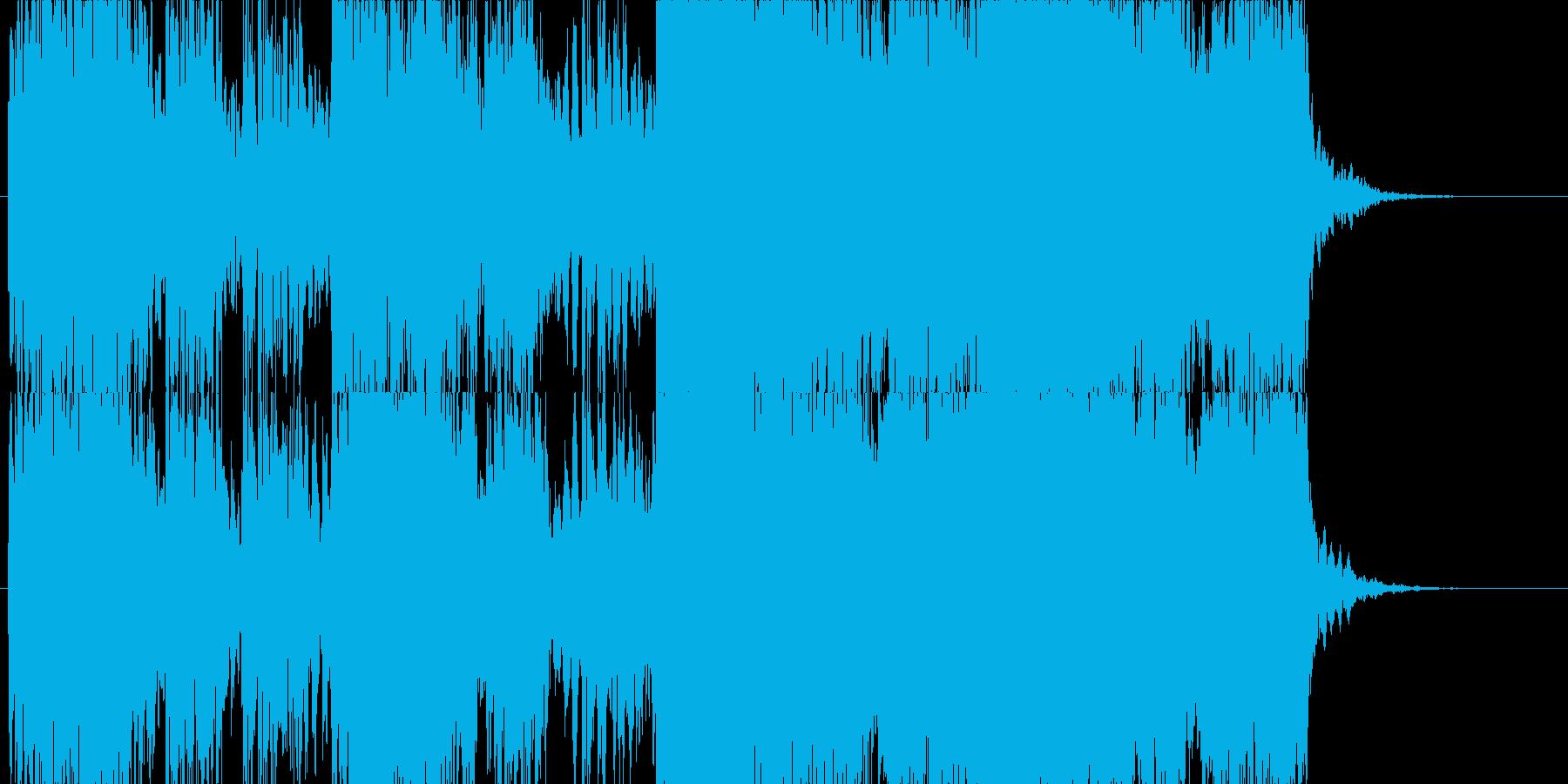 薄暗い雰囲気のホラーBGMです。の再生済みの波形