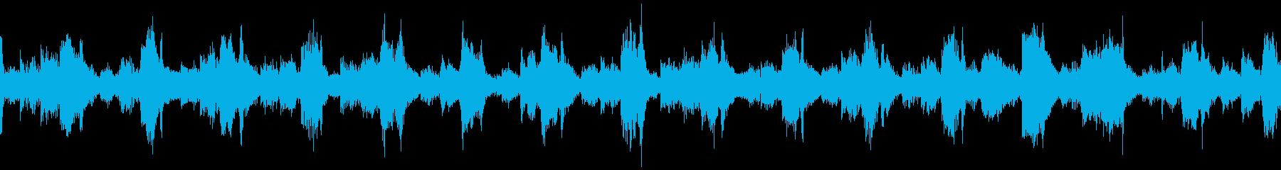 【ループD】クールなテクノトラックの再生済みの波形