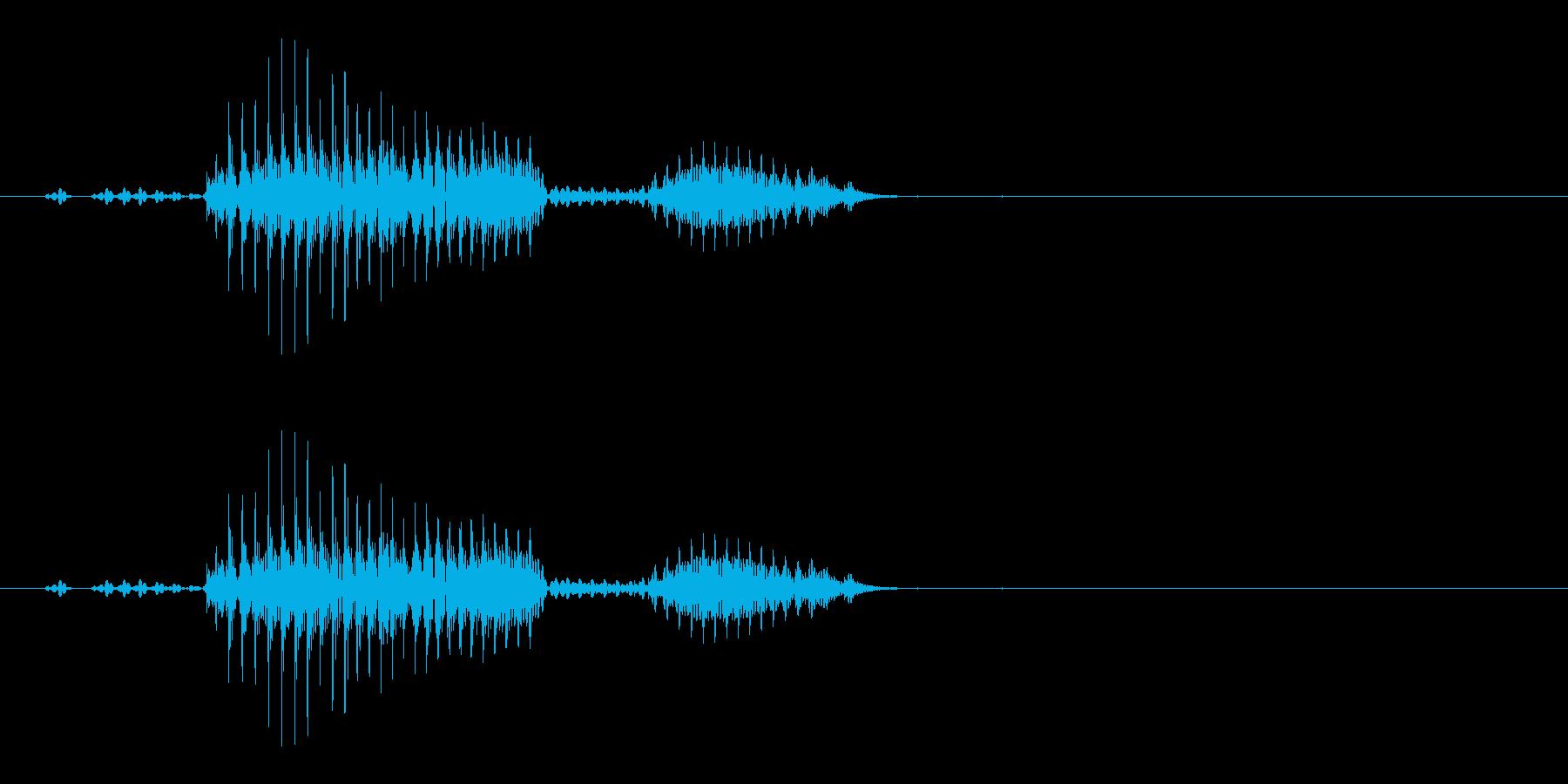 ライブの再生済みの波形