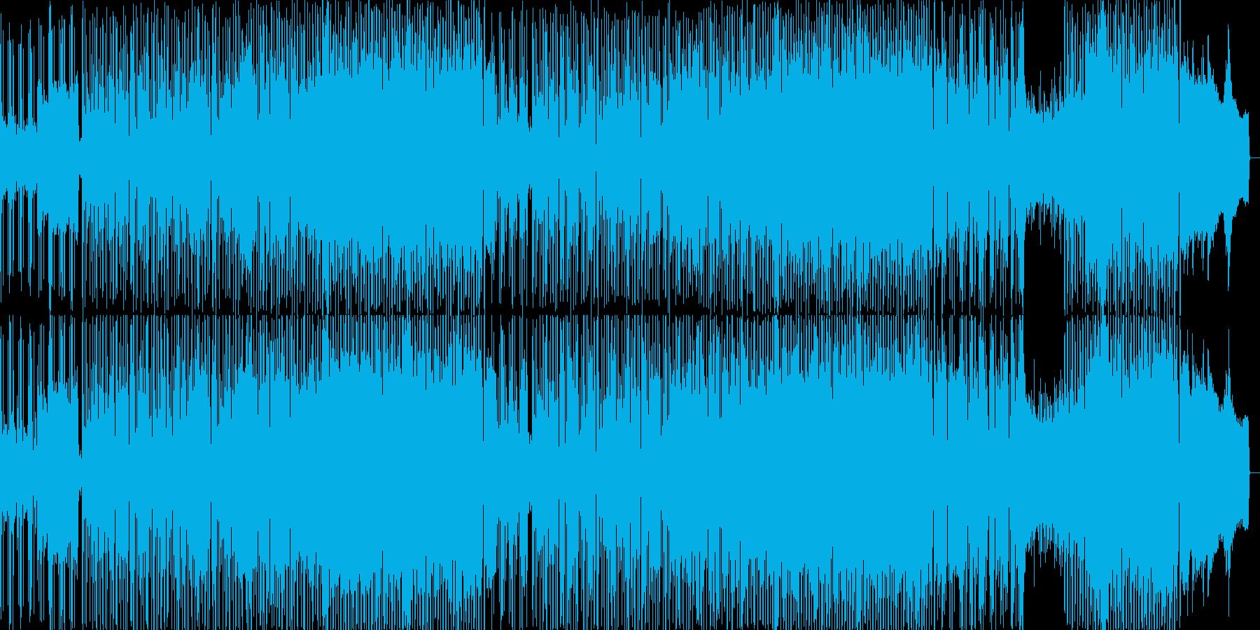 明るく元気なほのぼのとしたJpopの再生済みの波形