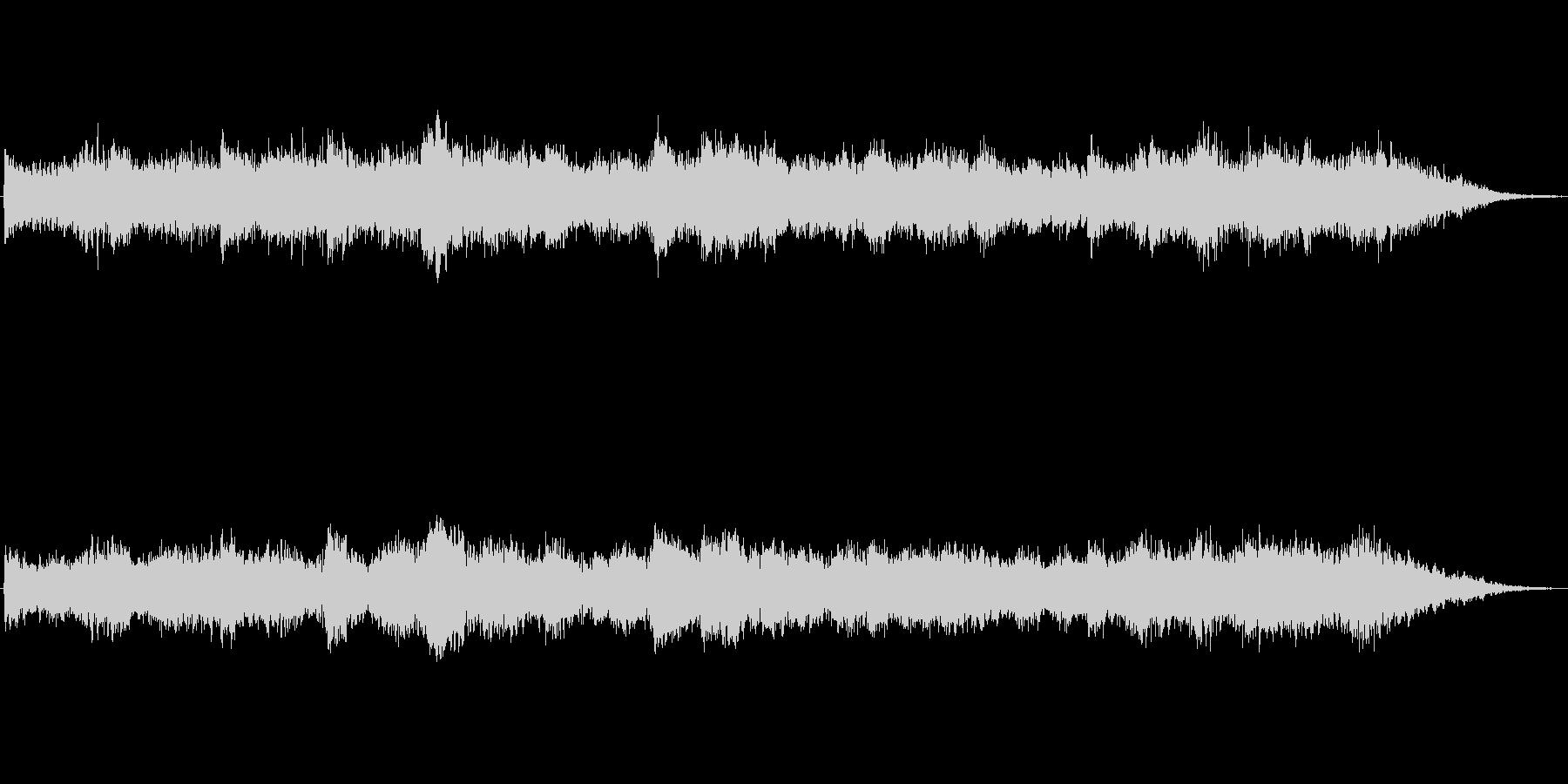 キラキラシンセのメルヘン世界のジングル3の未再生の波形