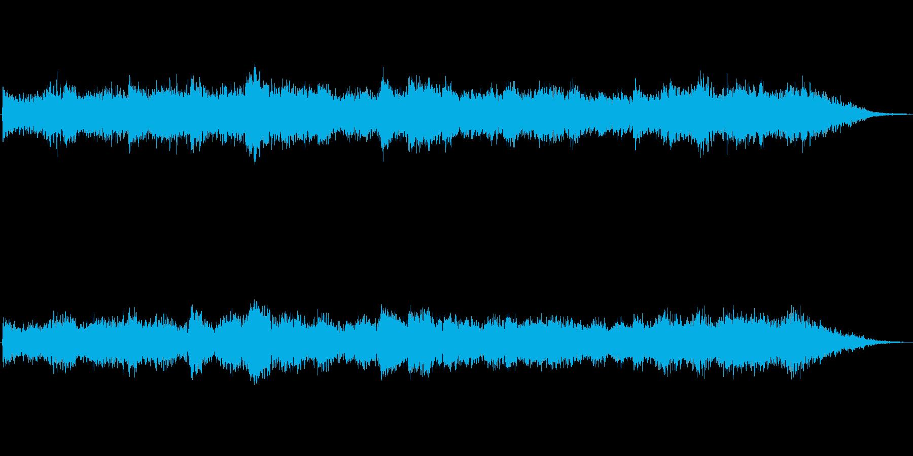 キラキラシンセのメルヘン世界のジングル3の再生済みの波形
